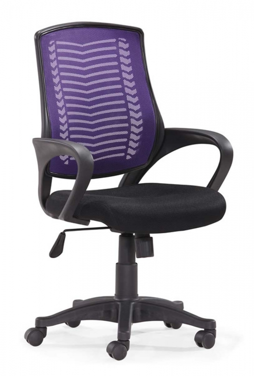 Truth Office Chair - Purple - Zuo Modern