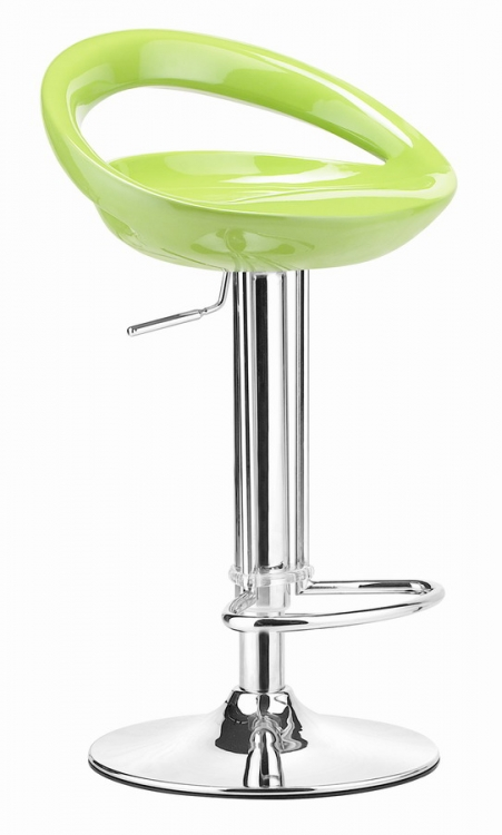 Tickle Barstool - Green - Zuo Modern