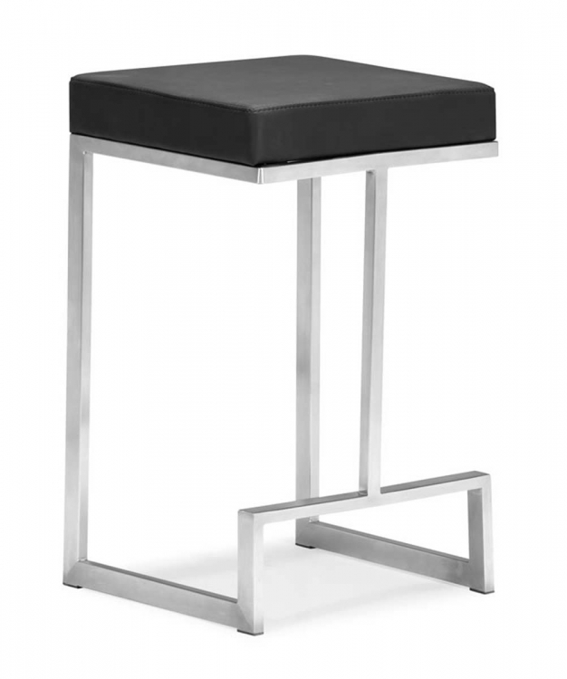 Darwen Counter Chair - Black - Zuo Modern