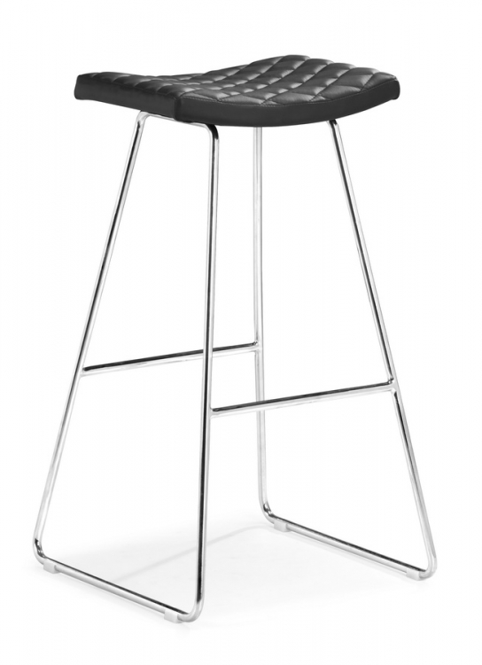 Crescent Barstool - Black