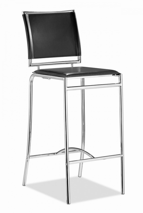 Soar Bar Chair - Black - Zuo Modern