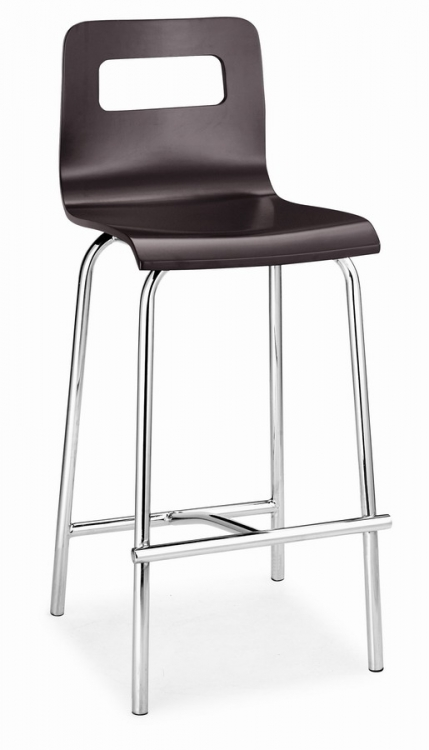 Escape Counter Chair - Wenge - Zuo Modern