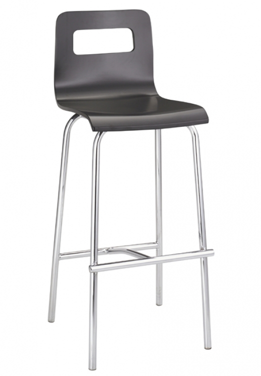 Escape Barstool - Black - Zuo Modern