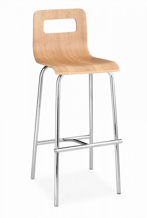 Escape Barstool - Natural - Zuo Modern