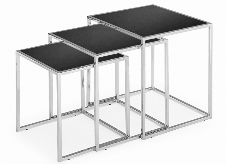 Pasos Nesting Tables - Black - Zuo Modern