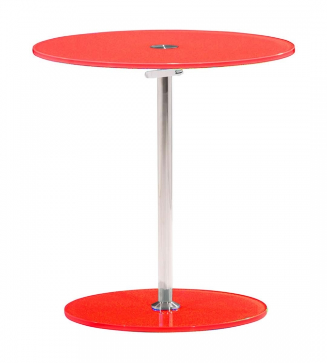 Radical Side Table - Red - Zuo Modern