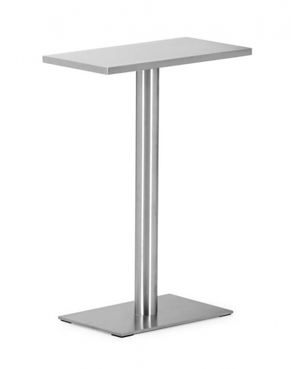 Dawlish Console Table - Stainless Steel - Zuo Modern