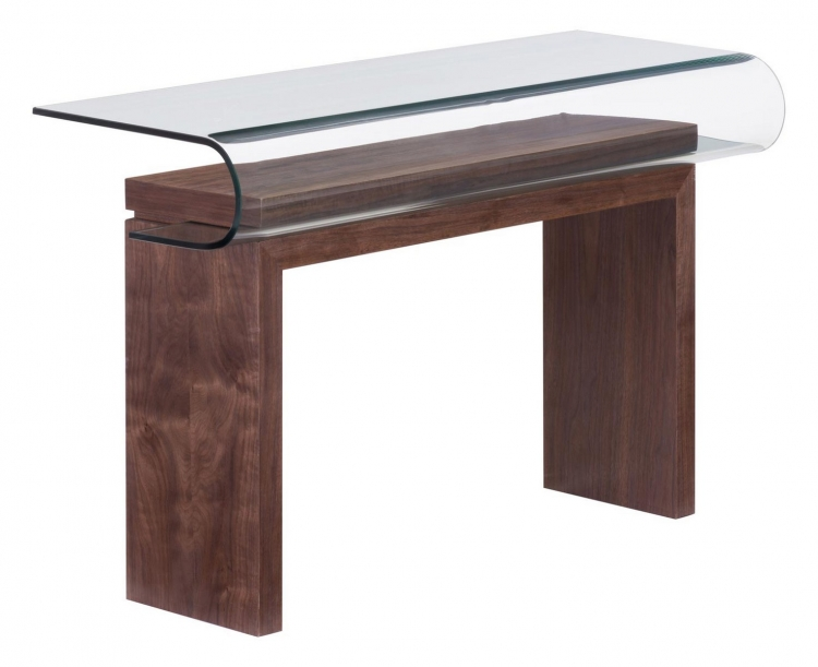 Mystic Console Table - Walnut