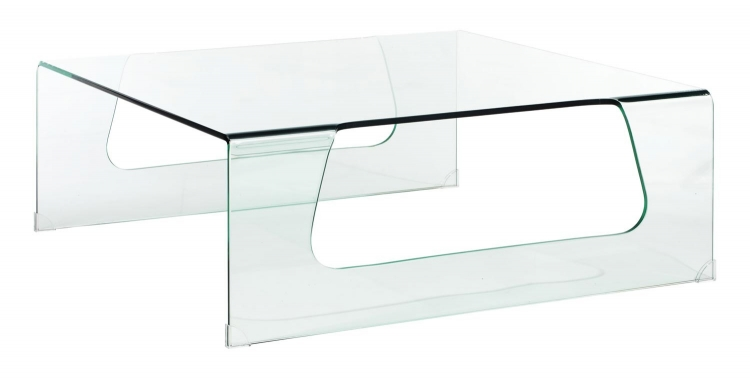 Campaign Coffee Table - Clear