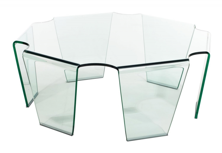 Circuit Coffee Table - Clear