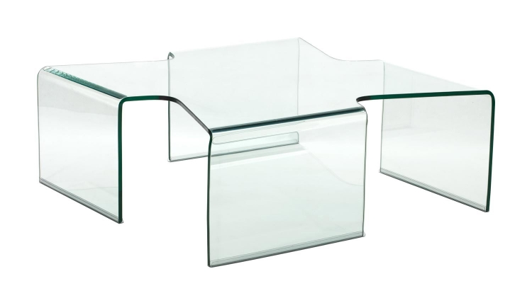 March Coffee Table - Clear