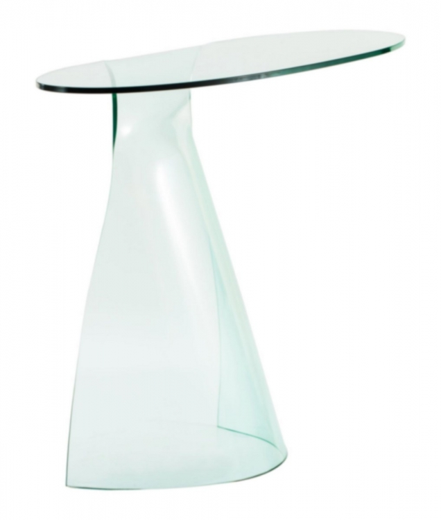 Quest Console Table - Clear