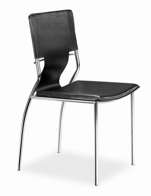 Trafico Dining Chair - Black