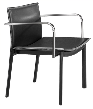 Gekko Conference Chair - Black - Zuo Modern