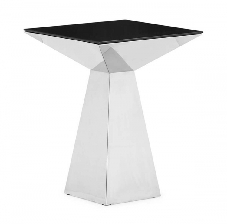Tyrell Side Table - Black - Zuo Modern