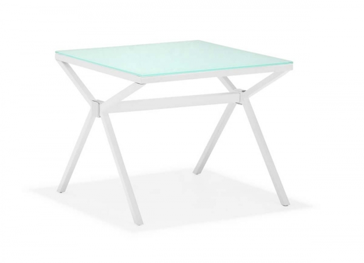 Xert Side Table - White - Zuo Modern
