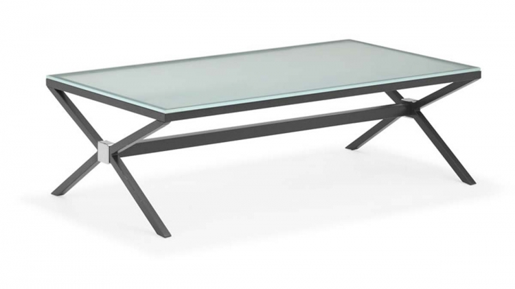 Xert Coffee Table - Gray - Zuo Modern