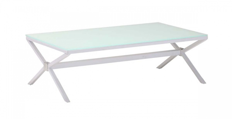 Xert Coffee Table - White - Zuo Modern