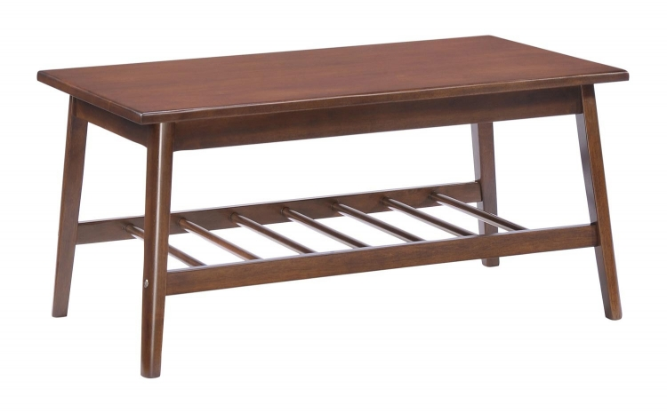 Aventura Coffee Table - Walnut