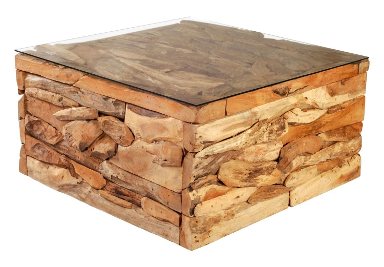 Erosion Coffee Table - Natural