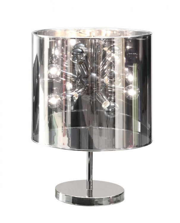 Supernova Table Lamp - Chrome