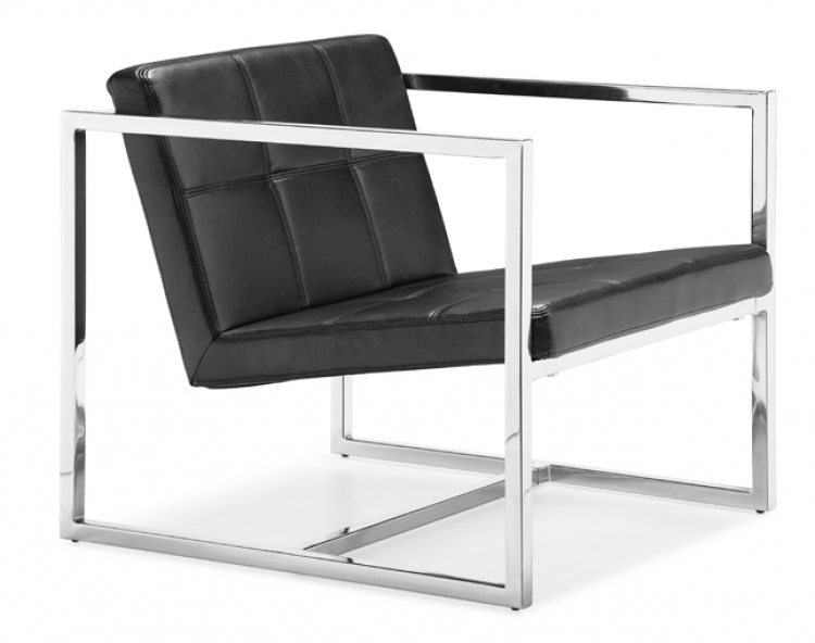 Carbon Chair - Black - Zuo Modern
