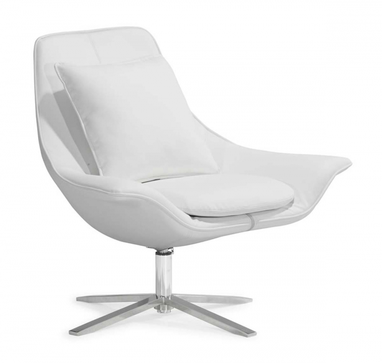Vital Lounge Chair - White