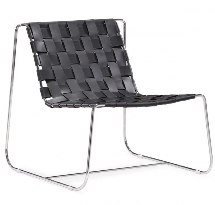 Prospect Park Lounge Chair - Black