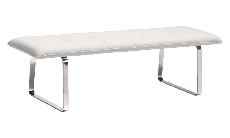 Cartierville Bench - White