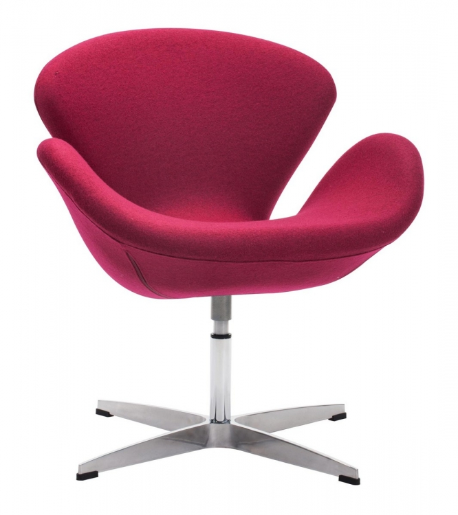 Pori Occasional Chair - Carnelian Red