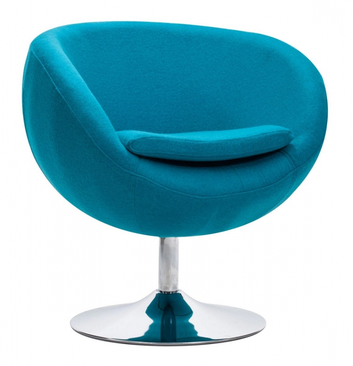 Lund Occasional Chair - Island Blue