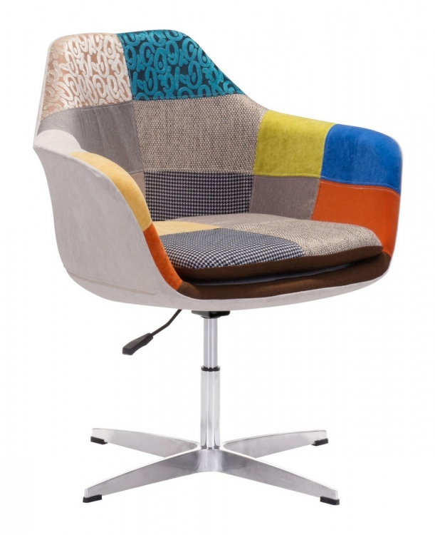 Brabant Occasional Chair - Patchwork Multicolor