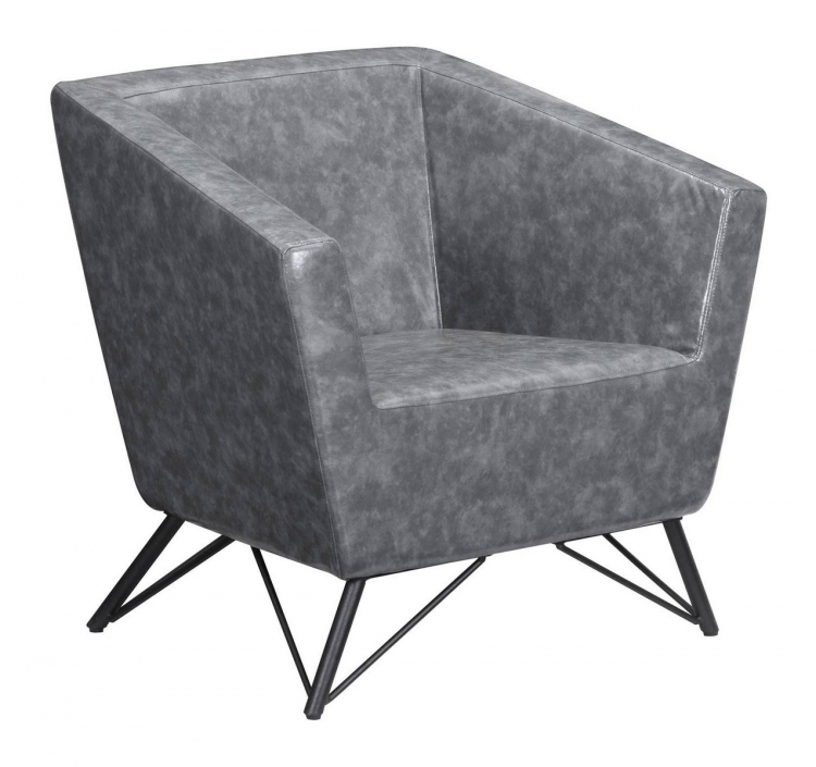 Brussels Occasional Chair - Prussian Gray