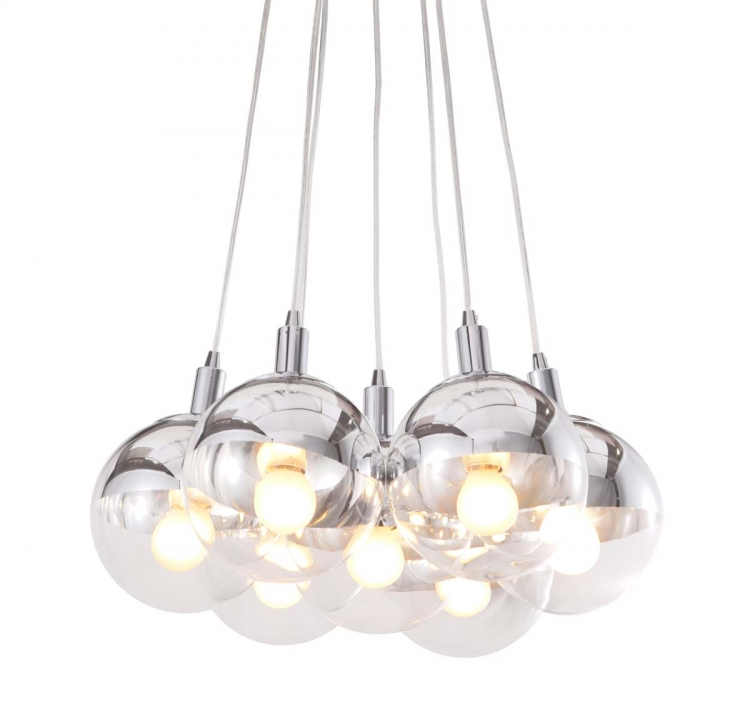 Time Ceiling Lamp - Chrome