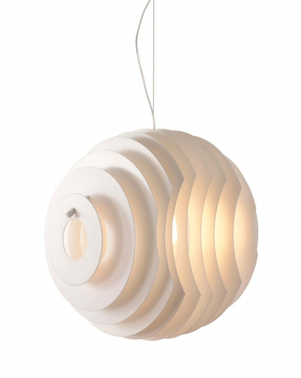 Intergalactic Ceiling Lamp - White - Zuo Modern