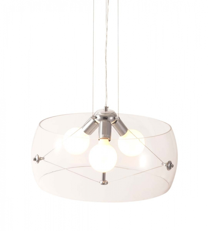 Asteroids Ceiling Lamp - Clear - Zuo Modern