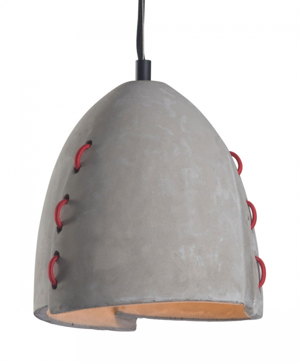 Confidence Ceiling Lamp - Concrete Gray