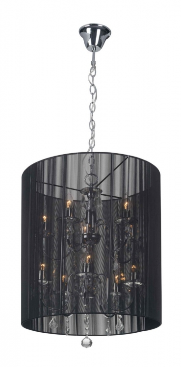Whitney Ceiling Lamp - Black