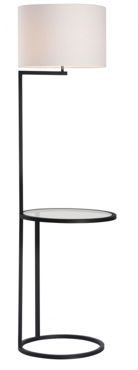 Swift Floor Lamp - White/Black