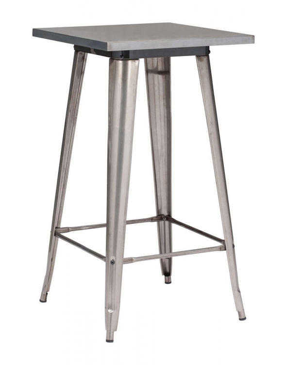 Olympia Bar Table - Gunmetal