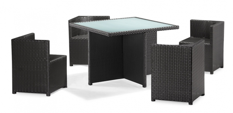Turtle Table and Seat Set - Zuo Modern