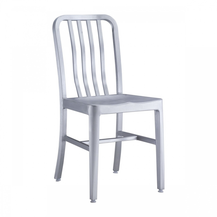 Gastro Dining Chair - Brushed Aluminum
