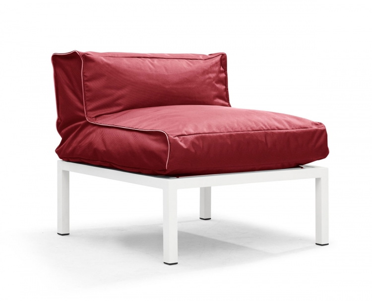 Copacabana Middle - Red - Zuo Modern