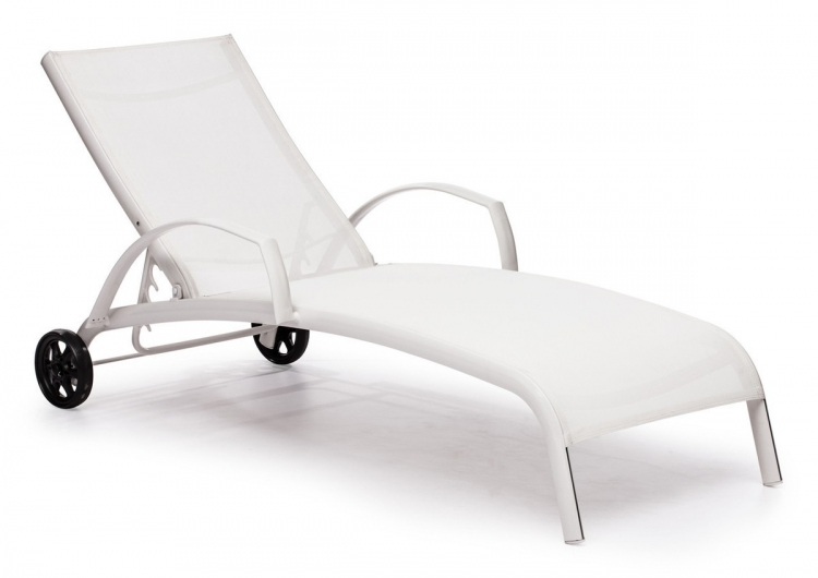 Casam Chaise Lounge - White