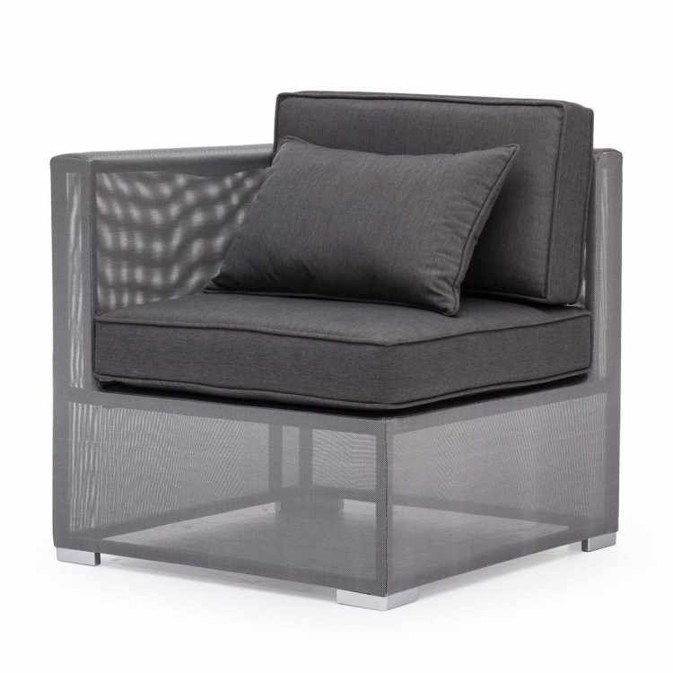Clear Water Bay Corner Chair - Gray
