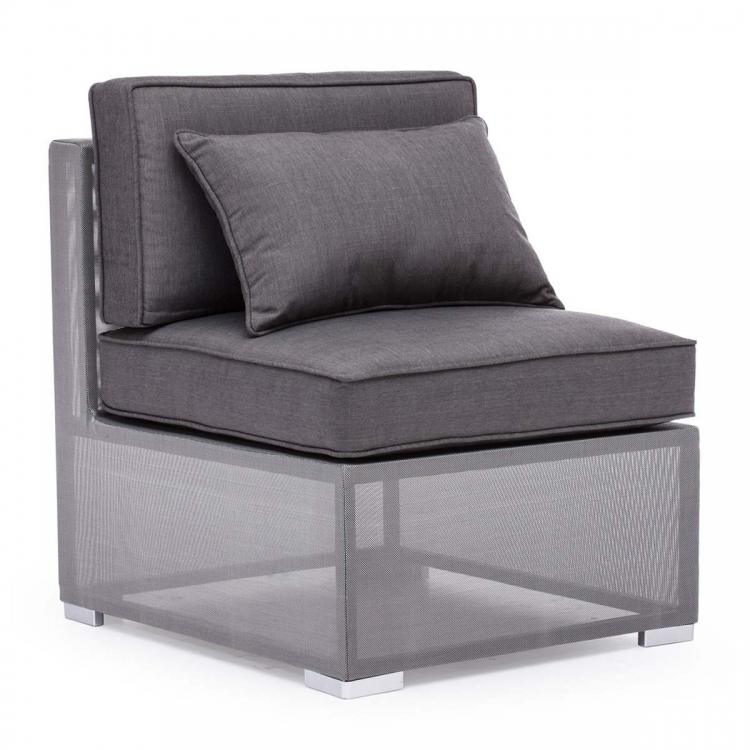 Clear Water Bay Middle Chair - Gray