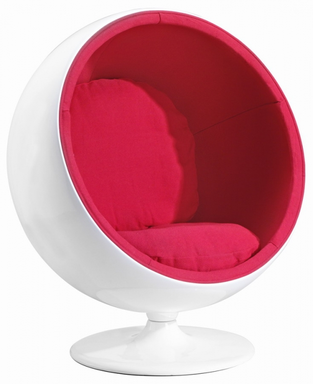 Mib Chair - Red - Zuo Modern