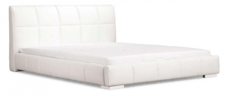 Amelie King Size Bed - White