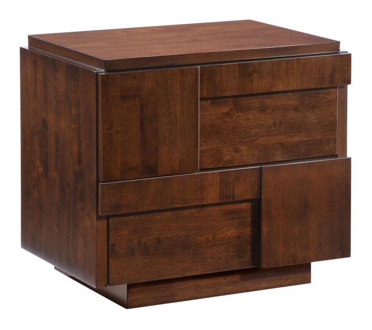 San Diego Night Stand - Walnut