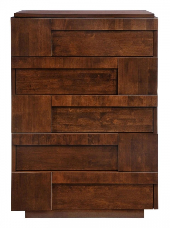 San Diego High Chest - Walnut
